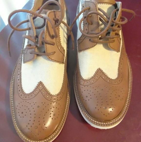 fa734421363e9 Polo ralph lauren torrington wingtip shoe size 7
